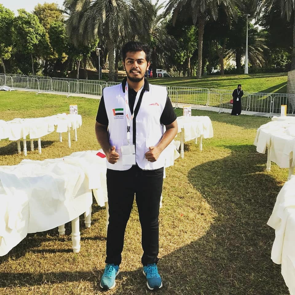 Avanish kandala working with Guinness world record in Dubai